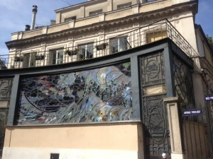 fresque villa frochot
